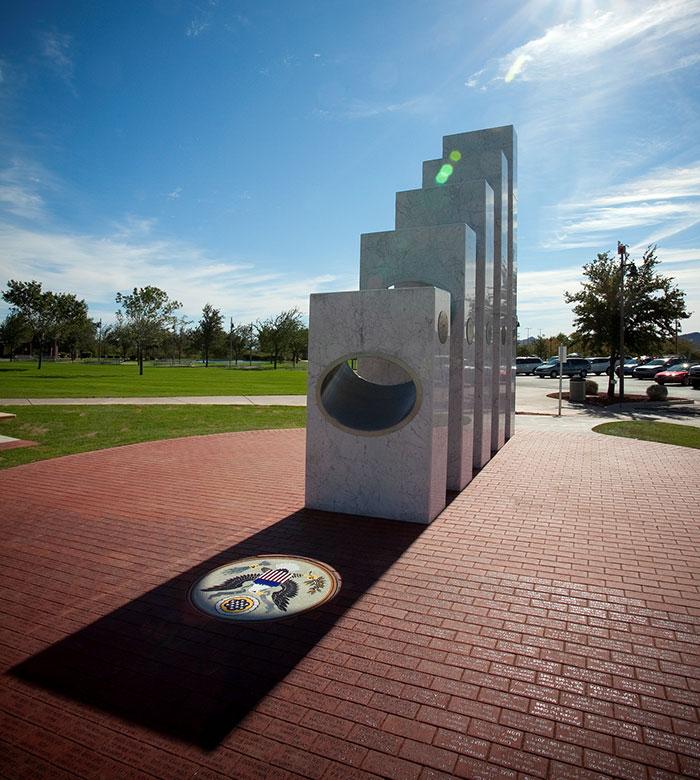 Мемориал Ветеранов в городе Антем