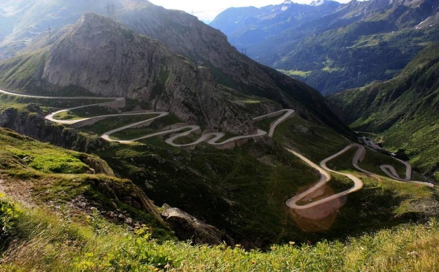 фото дорог Румынии