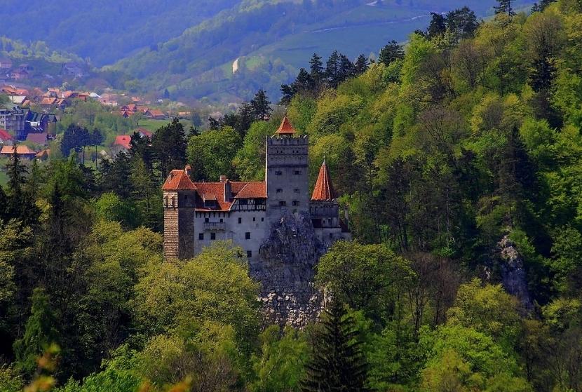 Фото замка Дракулы