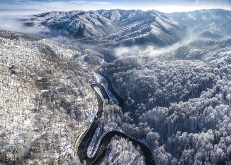 Фотографии зимней Трансильвании