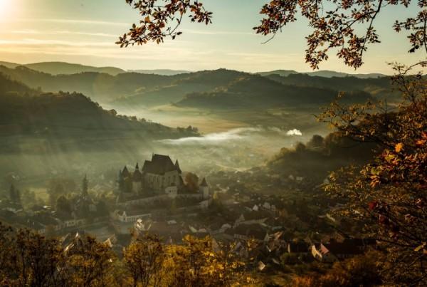 фото румынского замка