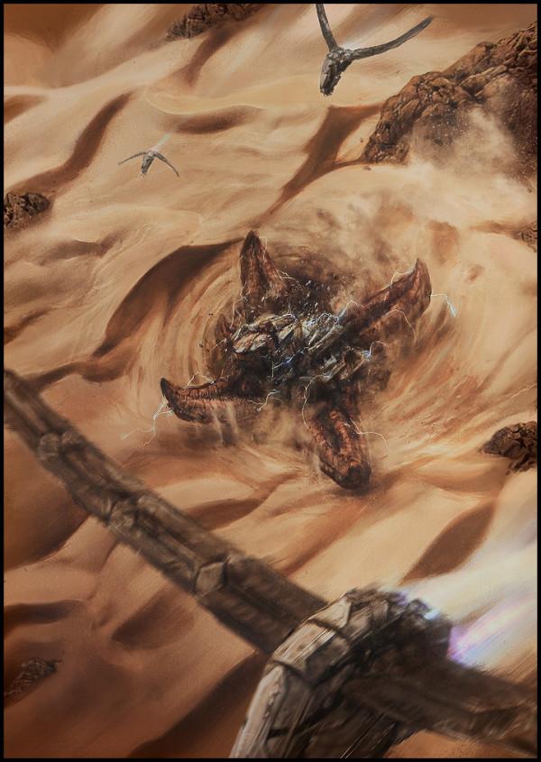 изображение червя из дюны