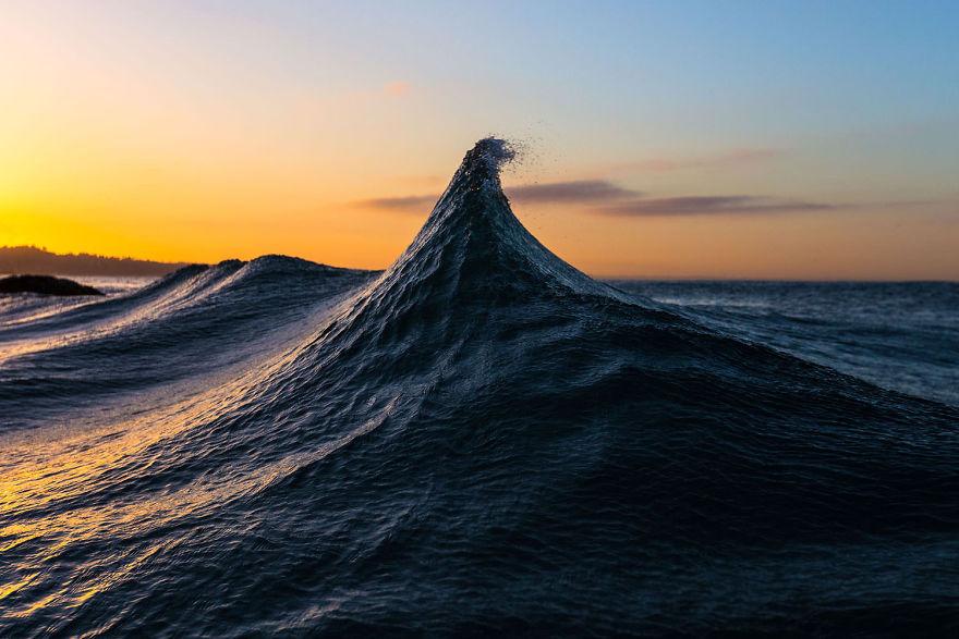 красивое фото волны