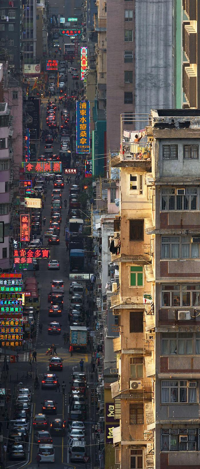 фото улицы в гонконге