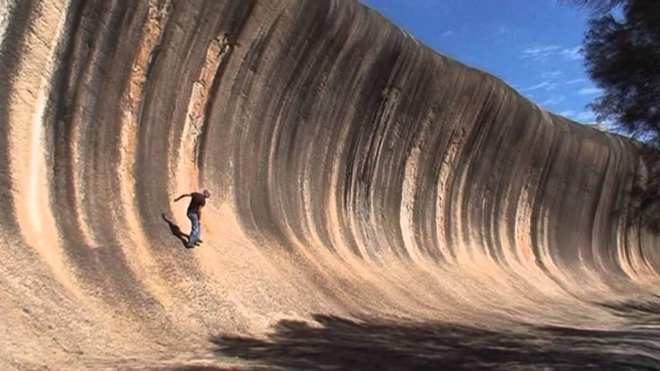 каменная волна Австралии
