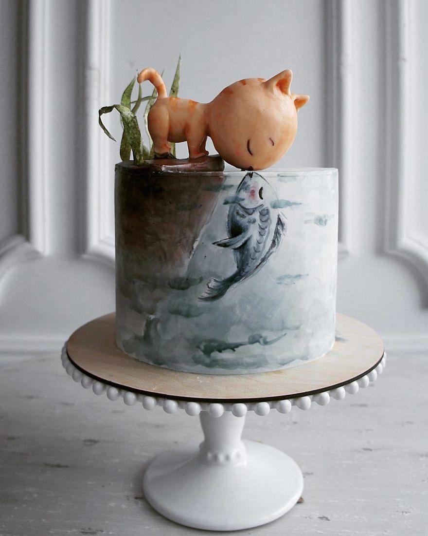 необычный торт фото