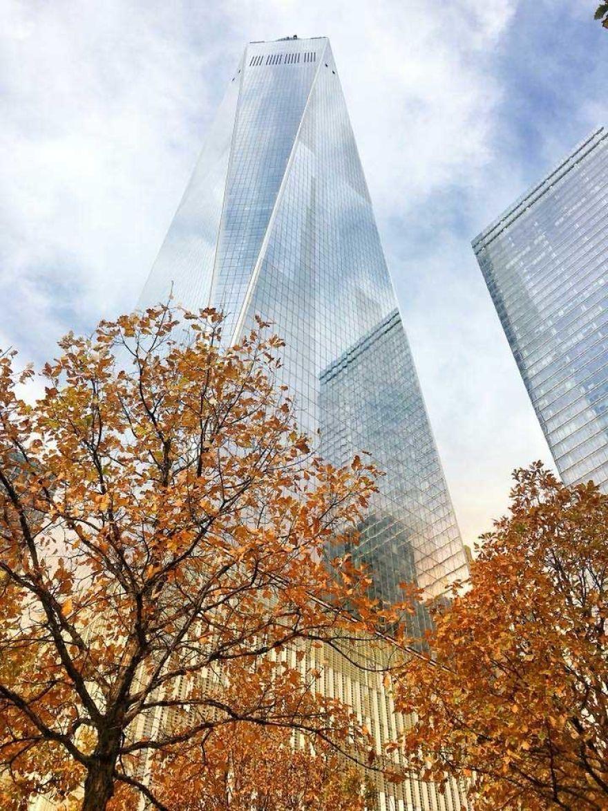 осень в Нью-Йорке фото
