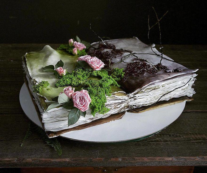 торт как книга