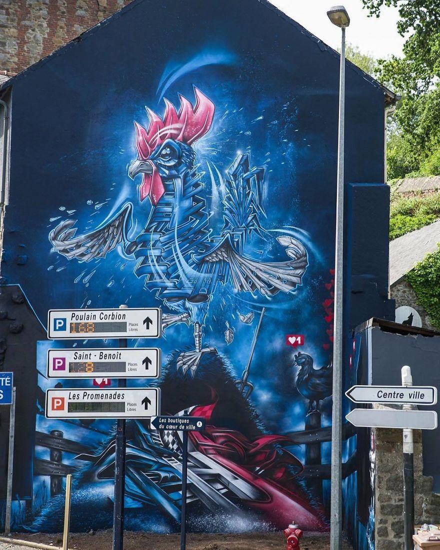 большие граффити фото