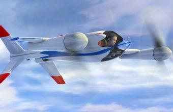 концепт самолета Puffin
