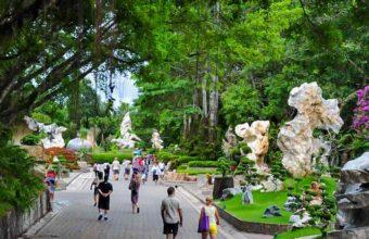 сад камней в таиланде