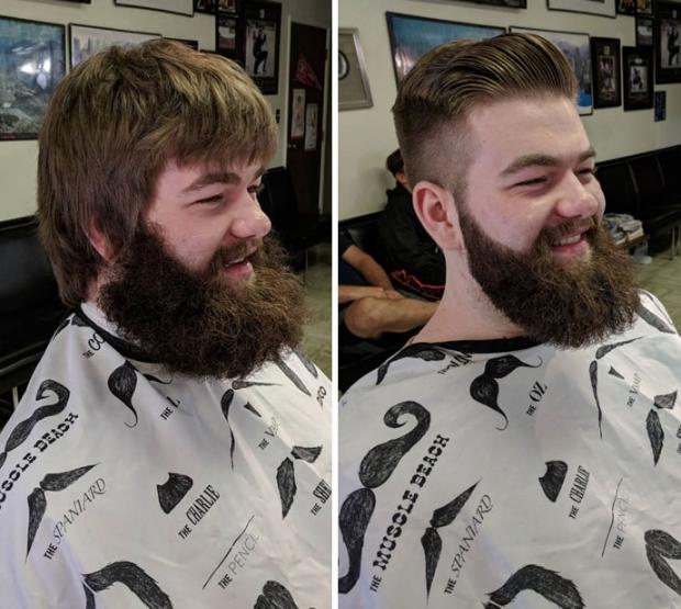 фото красивой бороды