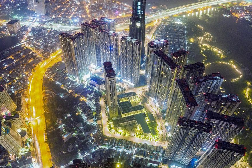 фото сайгона с высоты