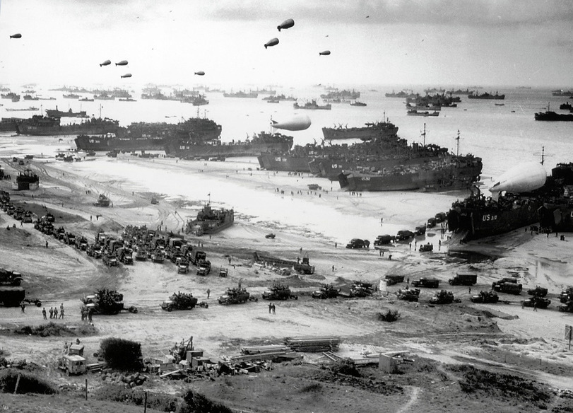фото высадки в Нормандии