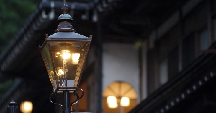 фото газового фонаря