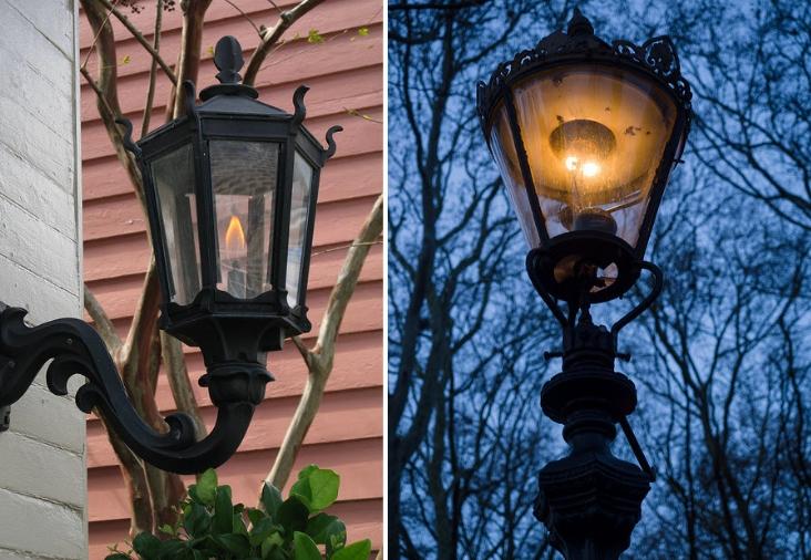уличные газовые лампы