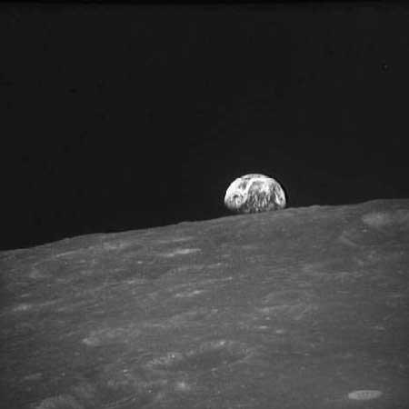 восход Земли над Луной