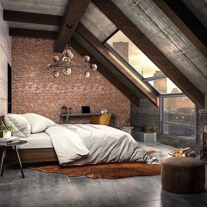 спальня мечты с окном