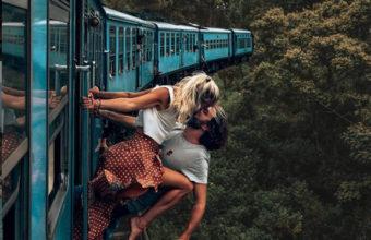 фото самого опасного поцелуя