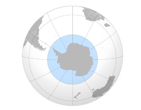 границы южного океана