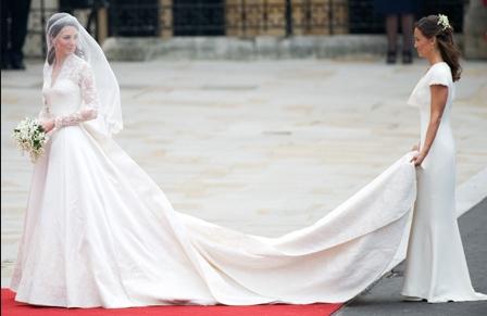 свадебное платье миддлтон