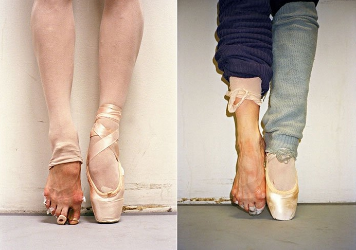 фотографии ног балерин