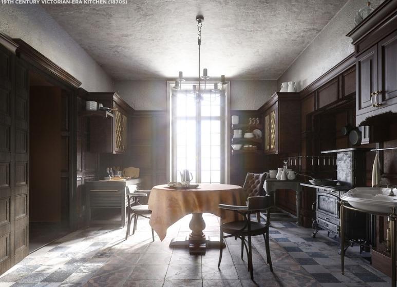 Кухня Викторианской эпохи