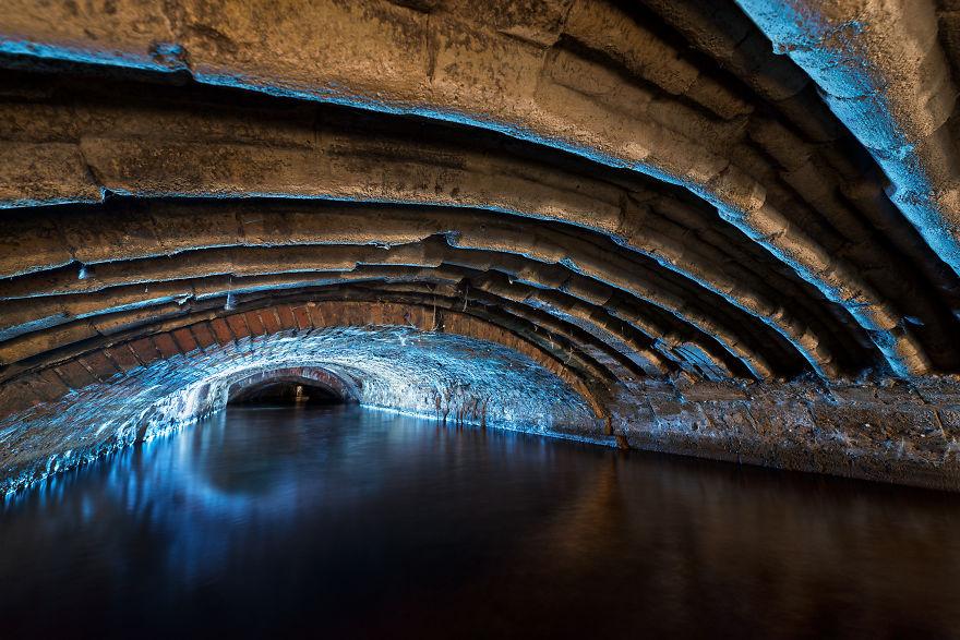 подземный тоннель в Англии