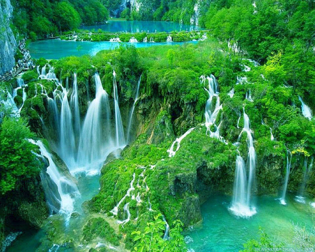 плитвицкие водопады фото