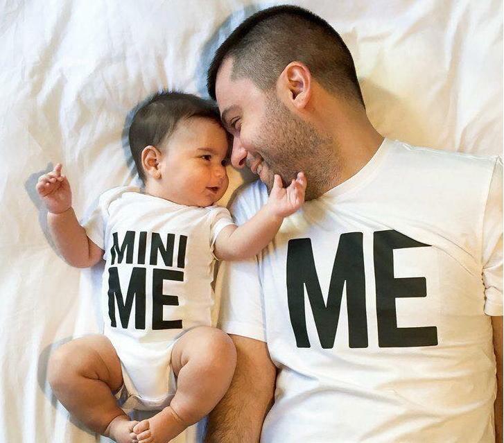 идеи для майки отца и сына