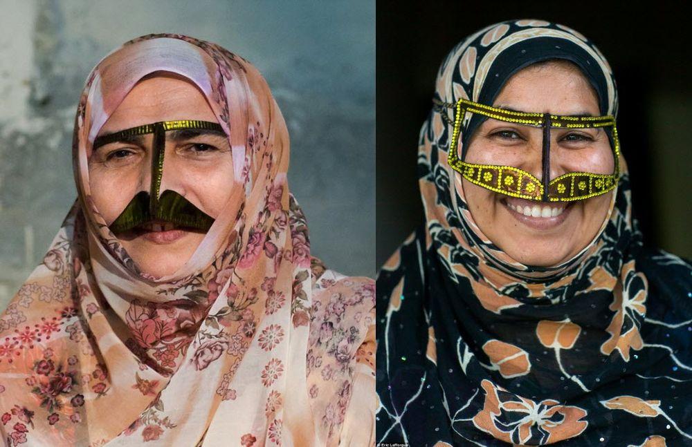 2маски женщин ирана