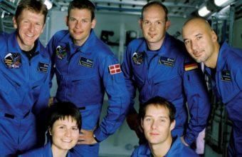 фото европейских космонавтов