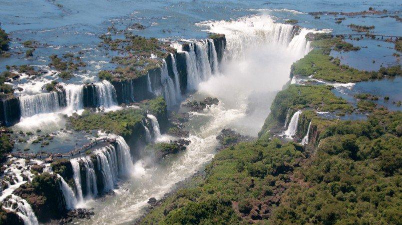 фото Водопада Игуасу