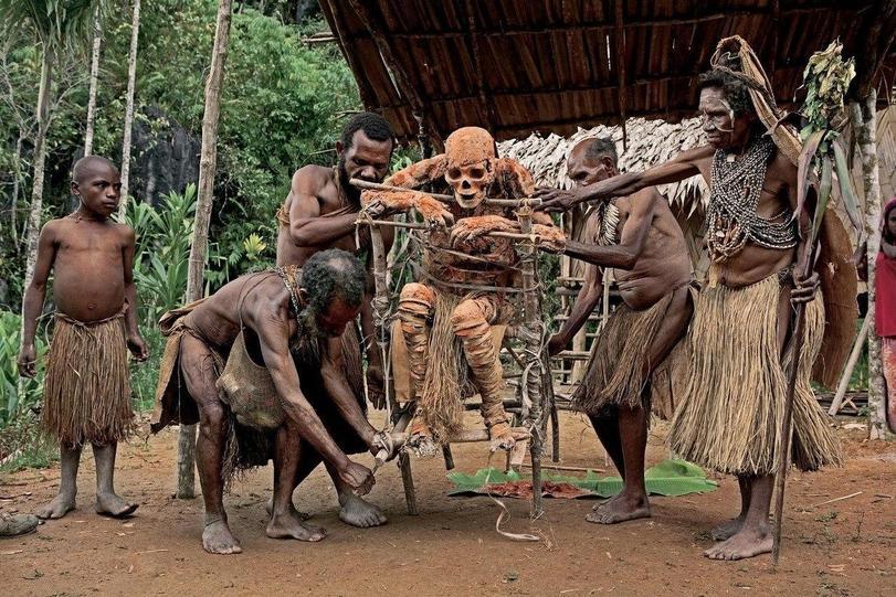 фотографии племени анга