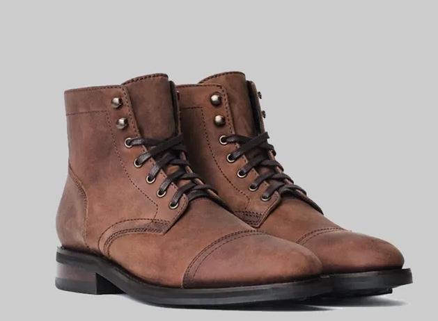 мужские ботинки на шнурках 2020