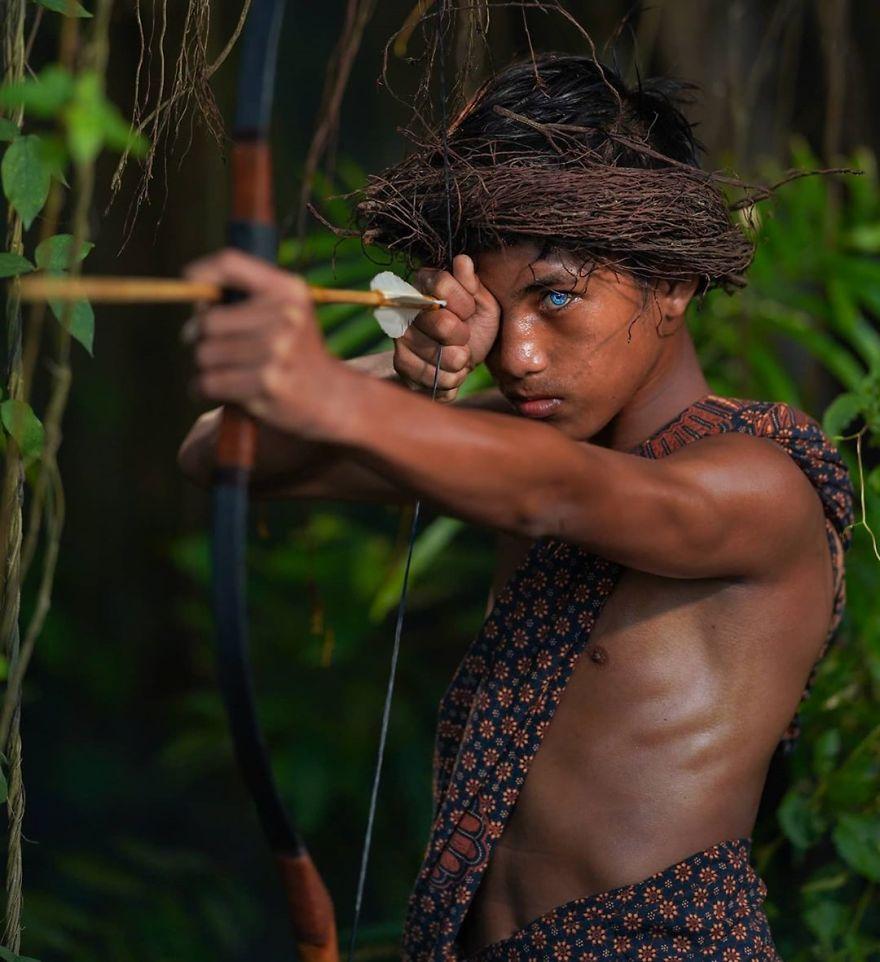 племя из Индонезии