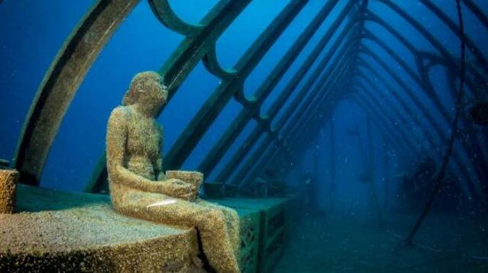 фото из подводного музея