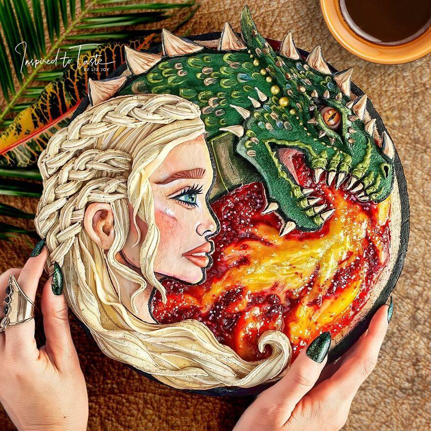 пирог с драконом
