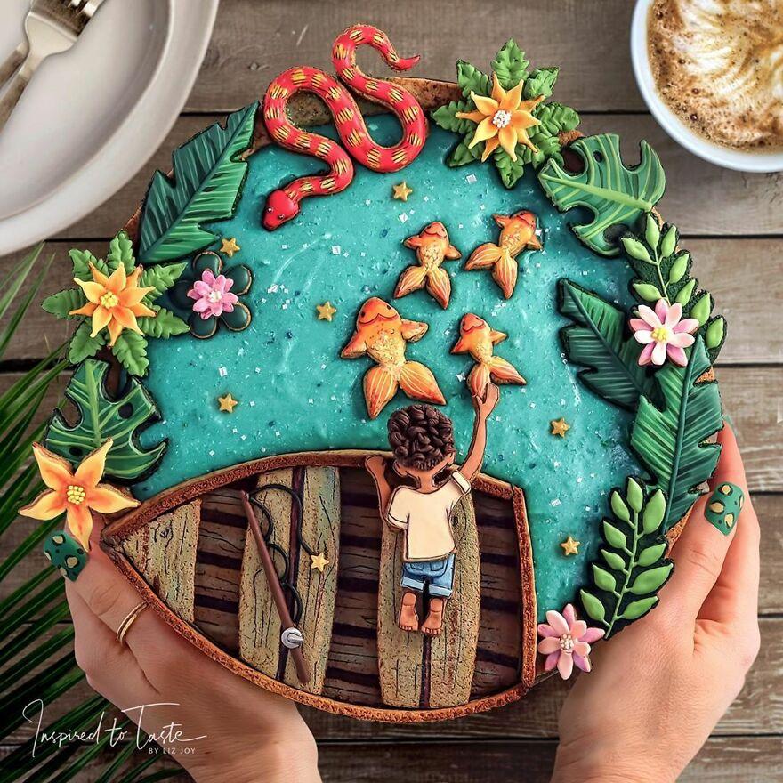 необычные пироги фото
