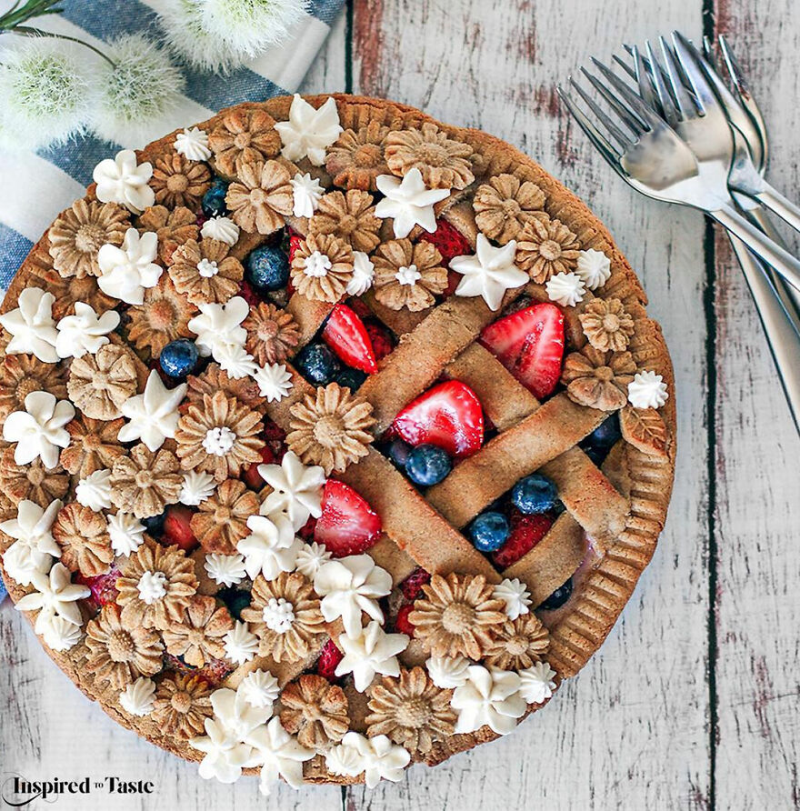 идея для красивого пирога