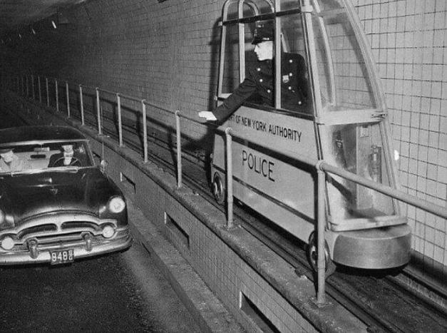 мини поезд для полиции