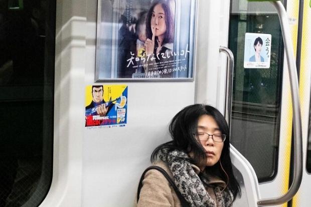 забавное фото из метро