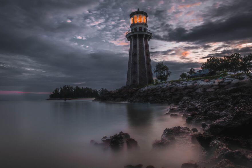 красивое фото маяка