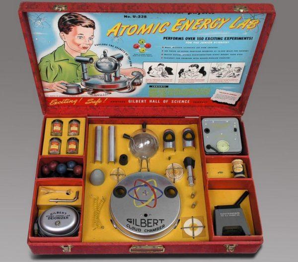 игрушка радиоактивная лаборатория