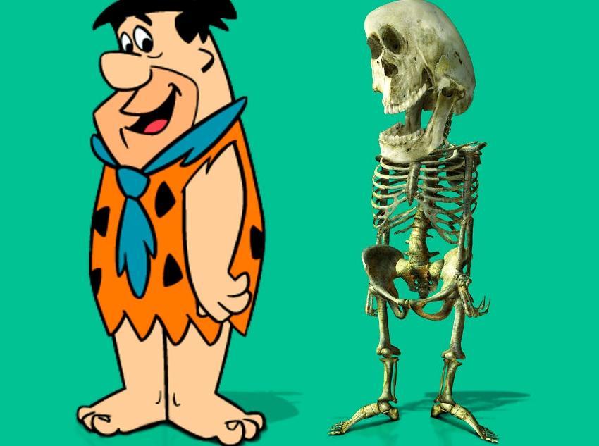 Фред Флинстоун скелет