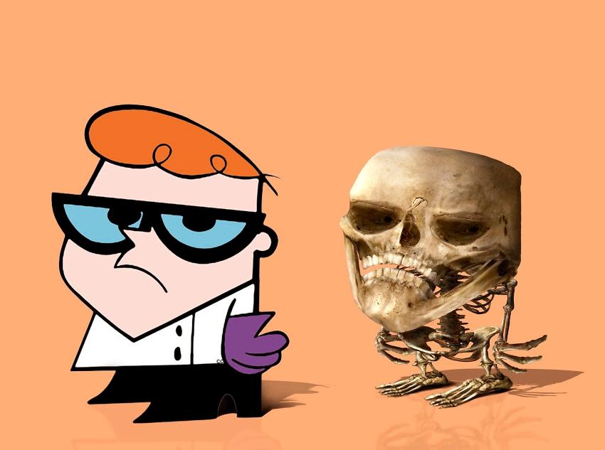 скелет Декстер картинка