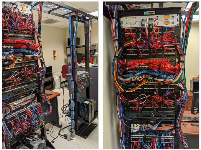 порядок в серверной