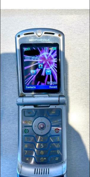 Motorola Razr фотка