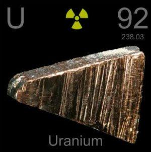 уран фото металла