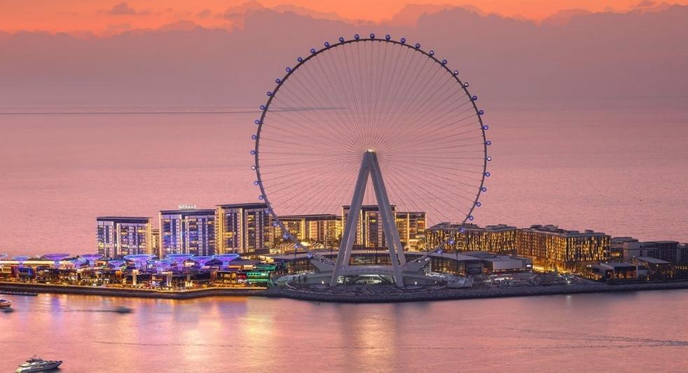 колесо Ain Dubai